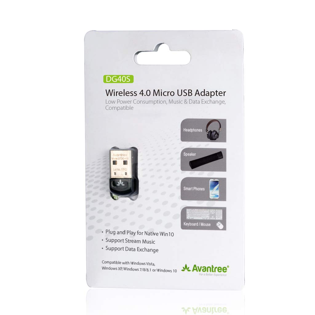ghdonat.com USB Bluetooth 4.0 Adapter Dongle for PC Laptop ...