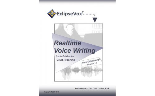 Realtime Voice Writing (Sixth Edition) - DNS 13